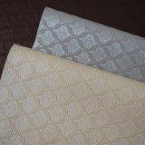 織り目加工のベッドの裏付けの壁の装飾はPVC革を模倣する