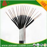 Le PVC de Kvv22 450/750V a isolé le câble de commande engainé par PVC blindé de bande en acier