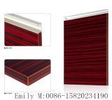 Portello dell'armadio da cucina del MDF del grado E1 dall'alto MDF UV lucido