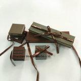 Бумажная коробка ювелирных изделий для ювелирных изделий и вахт
