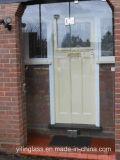 أمان باب معماريّة زجاجيّة مع شقّ مكان أو خدش عملية
