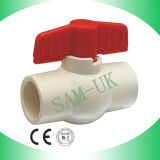 Kompaktes Kugelventil der Qualitäts-CPVC
