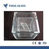Duidelijk/Gekleurd/ultra Duidelijk Gehard Aangemaakt Glas met Opgepoetste Randen/Gaten/Gesneden Grootte