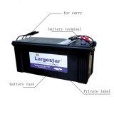 Batteria standard del dispositivo d'avviamento del camion di Mf N120 12V120ah JIS SLA