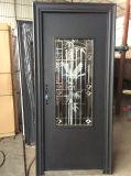 中国の単一の表玄関デザイン鋼鉄機密保護のドア