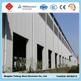 Против пакгауза здания рамки стальной структуры корозии