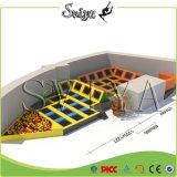 Trampolines спортивной площадки изготовленный на заказ различной крытой скачки крытые с Dodgeball