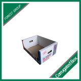 Boîte de présentation faite sur commande d'habillement de carton de papier ondulé