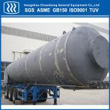 Химического жидкий кислород азот аргон танкер Полуприцепе