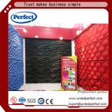 comitato di parete acustico del cartone di fibra del poliestere 3D 3D per la decorazione