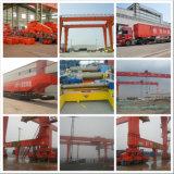 Schienenportmaschinen-Portalkran mit Haken