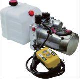 Eenheid die van de Hydraulische Macht van gelijkstroom 12V voor Kwart gallon van de Aanhangwagen van de Stortplaats de Enige 6 de handelen