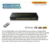 3D 1X4 HDMI Splitter met Audio 5.1CH 4k