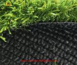 Herbe synthétique du football sans sable et caoutchouc de remplissage