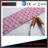 Type en céramique flexible chaufferette en céramique de Clawer de chaufferette de garniture de Pwht