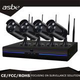 IP sem fio &#160 de 4CH 720p; Câmara de vigilância do CCTV do jogo da bala NVR com diodo emissor de luz da disposição