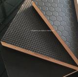12/15/18/20/21mm plein coeur de bouleau Honeycomb antiglisse Film face Panneau de contreplaqué pour plate-forme d'Échafaudage