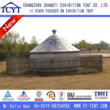 Tente de yourte traditionnelle mongole traditionnelle pour la vie