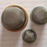 Engranzamento de fio do aço inoxidável para o filtro principalmente
