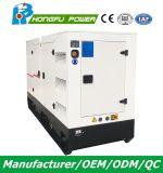 Hauptsuper leiser Dieselgenerator der energien-100kw/125kVA mit Shangchai Sdec Motor