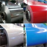 Les matériaux de construction Premier laminés à froid Trempé à chaud de zinc enduit de couleur prépeint PPGI PPGL Galvalume bobine en acier galvanisé