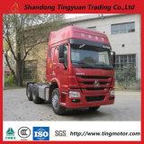 10 de Vrachtwagen van de Tractor van wielen HOWO met Uitstekende kwaliteit