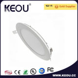 Fábrica/fabricante de interior frescos del panel 18W 8inch Downlight del blanco 6000k LED