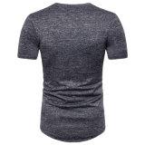 형식 남자 둥글 목 t-셔츠 100%년 면