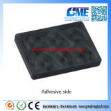 Alta calidad personalizada Rubber Coated Imán Flat Holding