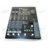 Mezclador de audio 4 canales de audio Mini consola de mezcla gracia-4