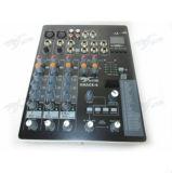 Audio Console gunst-4 van de Mixer van de Mixer 4channels Mini Audio