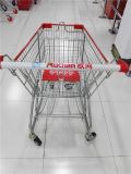 미국식 125L 수용량 슈퍼마켓 쇼핑 카트