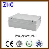 중국 제조 380*300*120 플라스틱 방수 상자 IP65는 경첩을 단 플라스틱 접속점 상자 울안 상자를 방수 처리한다