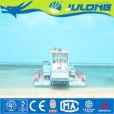 Corte de la alga marina y máquina segador del cerco