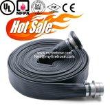 Manguito durable de alta presión del agua del fuego de la PU de 2 pulgadas