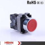 Interruttore di pulsante d'aggancio momentaneo di serie 22mm 10A/250V LED di TUV Hby5 del Ce