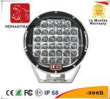 Luz del coche del LED 9 de la viruta del CREE de la luz 5W*32 LED del trabajo de la pulgada LED para la luz campo a través de la luz del coche LED de SUV y de conducción del LED
