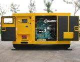 комплект генератора 128kw/160kVA Cummins Enclosed молчком тепловозный