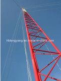 Van Communicatie van het Type van Pool van het staal de Toren Guyed van Telecommunicatie