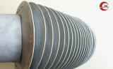 Le tissu de verre en verre circulaire Al-Foil No-Ring cousu des soufflets de couvercles de protection