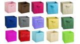 Non сплетенная коробка хранения ткани OEM коробки хранения ткани складывая Non сплетенная складная