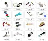 Mecanismo impulsor al por mayor del flash del USB del eslabón giratorio del OEM 1GB-64GB para la muestra libre (EM010)