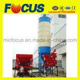 Levantar la tolva de buena calidad de la planta de proceso por lotes de concreto Hzs25