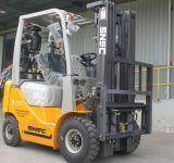 Lp 가스 기관 Forklifter 1.5 톤 2륜 전차 포크리프트