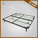 中国Manufacturerの寝室Furniture Strengthen Folding WoodおよびMetal Bed Frame