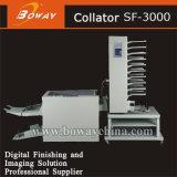Oficina Ad SF3000 Folleto Alzadora hojas de papel de cotejo y costura de la máquina del sistema