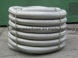波形の管およびステンレス鋼ワイヤーブレードの軟らかな金属のホース