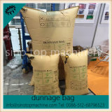 Brown Kraft Paper Stuff Void Filling Air Bag para segurança de paletes OEM
