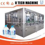 Máquina de rellenar por completo del taponamiento puro automático rotatorio del agua 5L (series de XGF)