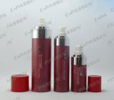 30ml 60ml 120ml High-End Red Pet Plastic Lotion / Spray Bottle para cuidados com a pele (PPC-PB-038)